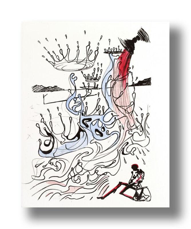 Salvador Dalí, 'River of Plenty', 1967, Print, Drypoint on Paper, Animazing Gallery