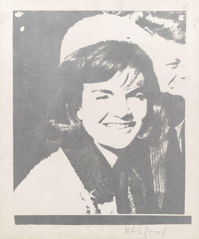 Andy Warhol, 'Jaqueline Kennedy I (Jackie I) - unique-', 1966, Print, Screenprint on paper, JF Fine Arts & Verosa
