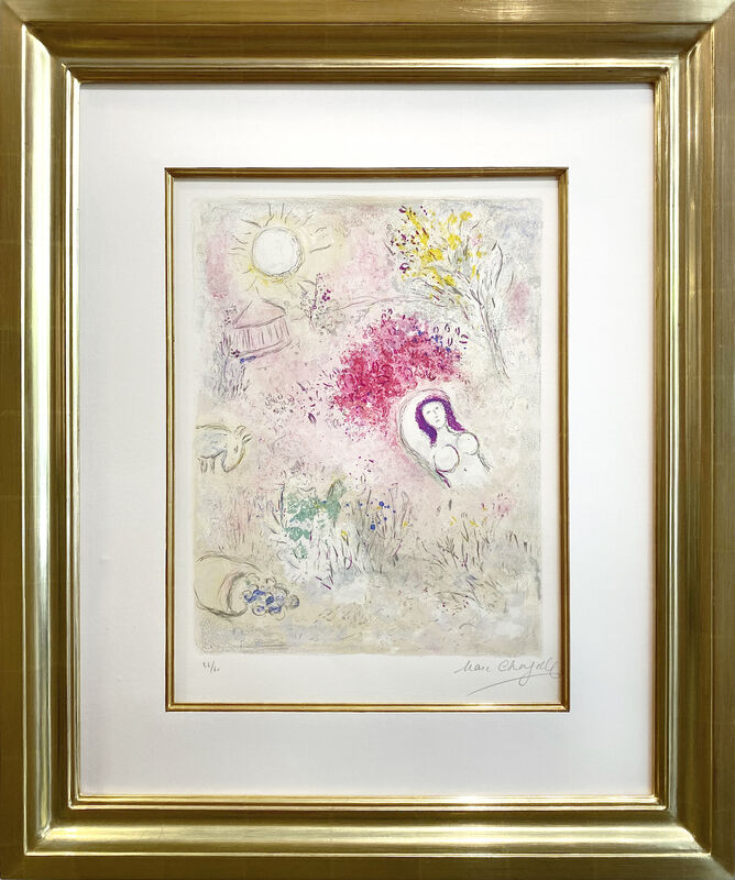Marc Chagall, 'Chloe', 1960, Print, Original lithograph printed in colors on Arches wove paper., Galerie d'Orsay