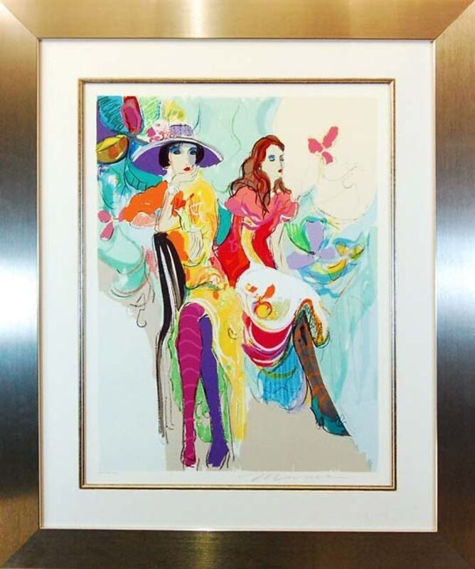 Isaac Maimon, 'Les Coquettes I', 1995, Print, Serigraph on paper, Baterbys