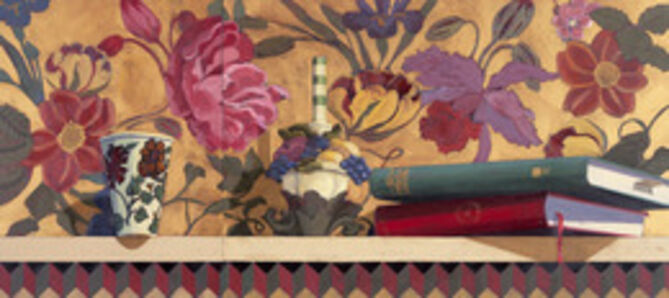 Sterling Mulbry, 'Persian Flowers with Books', 2012