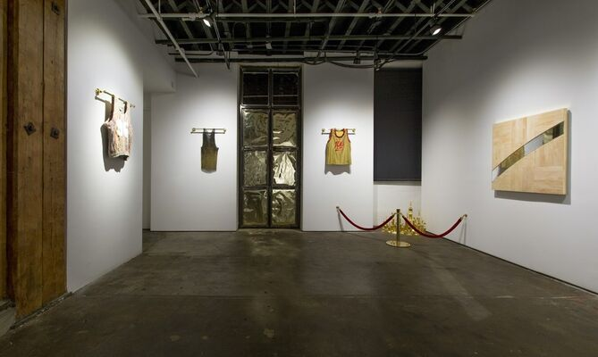 Literally Balling, installation view