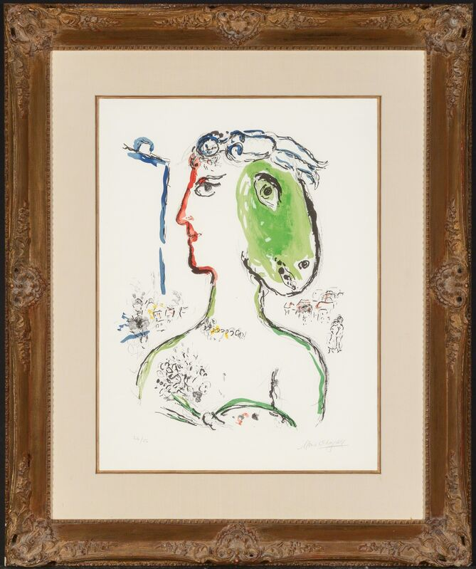 Marc Chagall, 'L'Artiste Phénix', 1972, Print, Lithograph in colors, Heritage Auctions