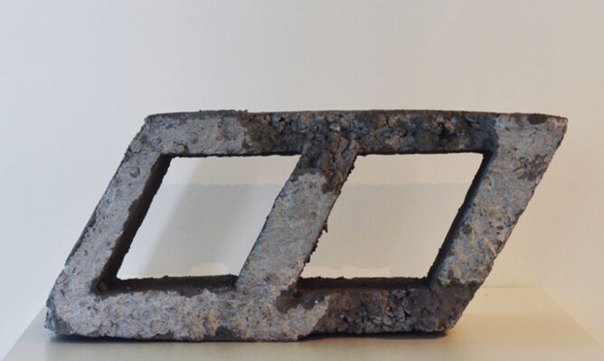 Project Space 11 Hana Al Saadi: Proposal for a Public Sculpture, installation view