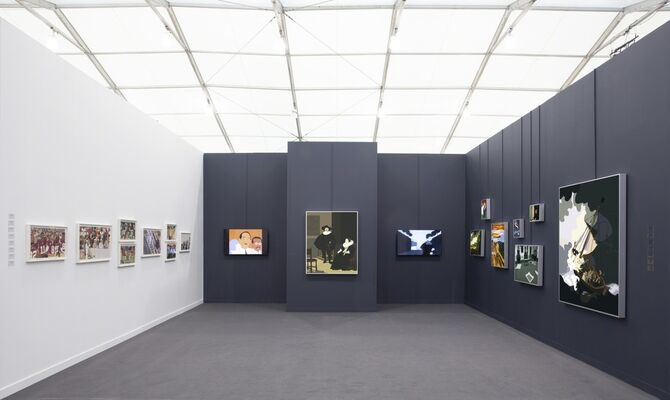 Haines Gallery at Frieze New York 2019, installation view