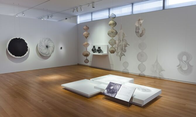 Pathmakers: Women in Art, Craft and Design, Midcentury and Today, installation view