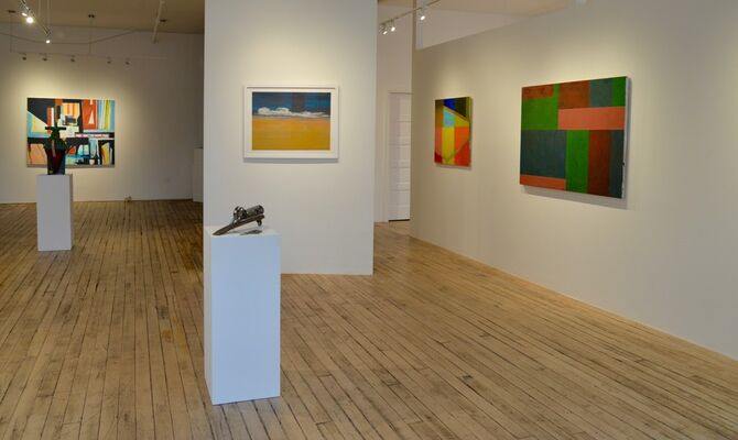 Paint: Painting Group Show, installation view