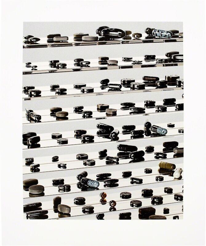 Damien Hirst, 'Black Brilliant Utopia', 2013, Print, Inkjet, glaze and Diamond Dust on Hahnemuhle photo rag paper, Gregg Shienbaum Fine Art