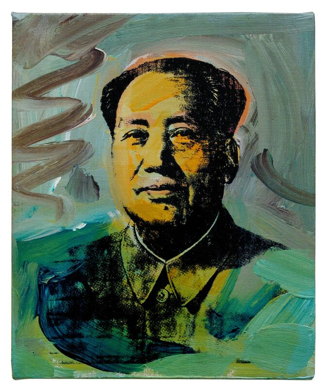 Andy Warhol, 'Mao', 1973, Painting, Acrylic and silkscreen ink on linen, Stellan Holm Gallery