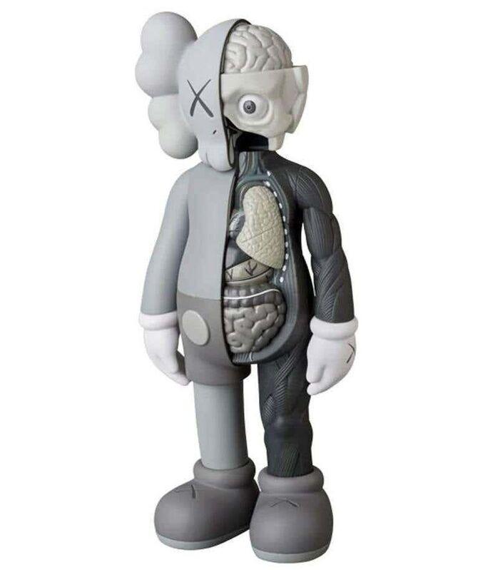 KAWS, 'KAWS Flayed Companions 2016 (Set of  2)', 2016, Sculpture, Painted vinyl cast resin figures, Lot 180