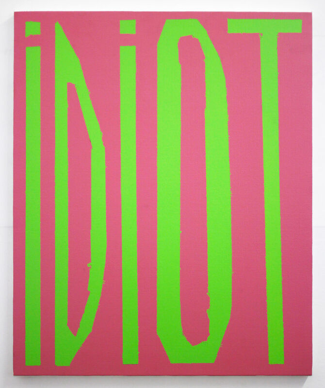 Samuel Labadie, 'IDIOT', 2019, Painting, Acrylic on canvas, Trama34