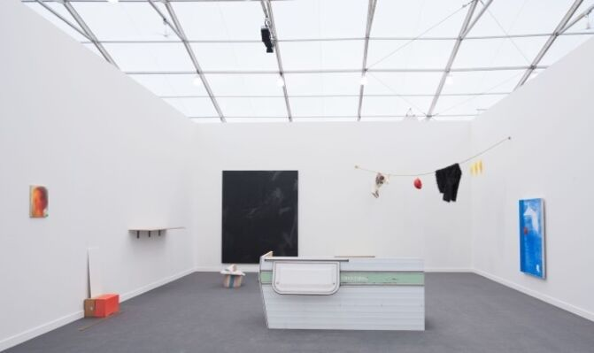 Galerie Jocelyn Wolff at Frieze New York 2016, installation view