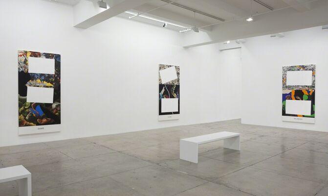 John Baldessari: Pollock/Benton, installation view