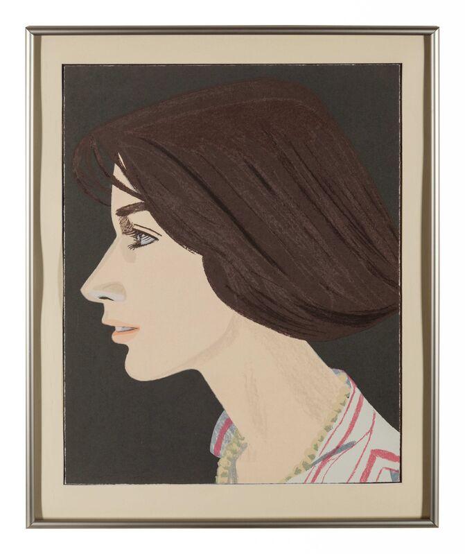 Alex Katz, 'Susan', 1976, Print, Color lithograph, Hindman