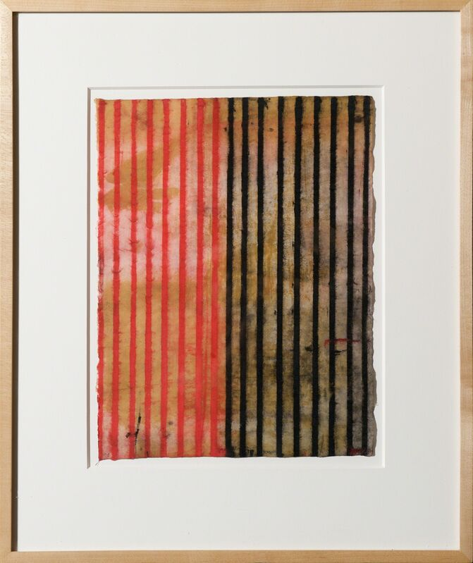 Robert Kelly, 'Tantra Ledger XXVII', 1998, Painting, Conte and gouache on paper, framed, Bentley Gallery
