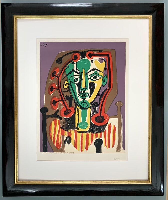 Pablo Picasso, 'La Corsage rayé', 1978, Print, Lithograph, Van der Vorst- Art