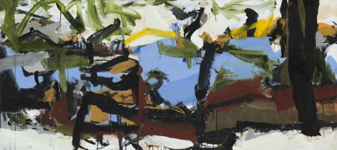 Ann Thomson, 'Through Trees', 2019