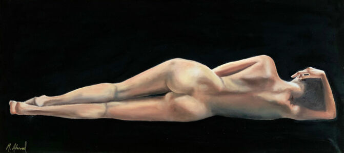 Marjorie Atwood, 'Untitled Nude', 2020