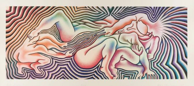 Judy Chicago, 'Birth Trinity ', 1985