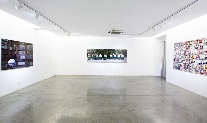 Liu Bolin, installation view