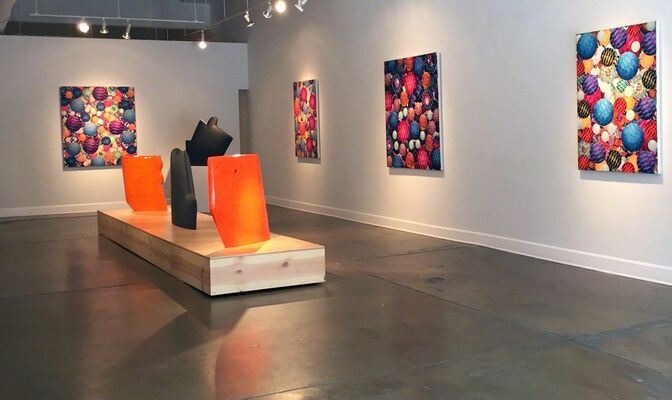 James Marshall & Aaron Karp, installation view
