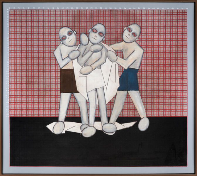 Thomas Zipp, '10. A.O.: Don't envy other people (getting undressed)', 2020