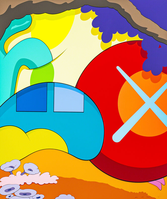 KAWS, 'YOU SHOULD KNOW I KNOW', 2015, Print, Screen-print in colors, DIGARD AUCTION