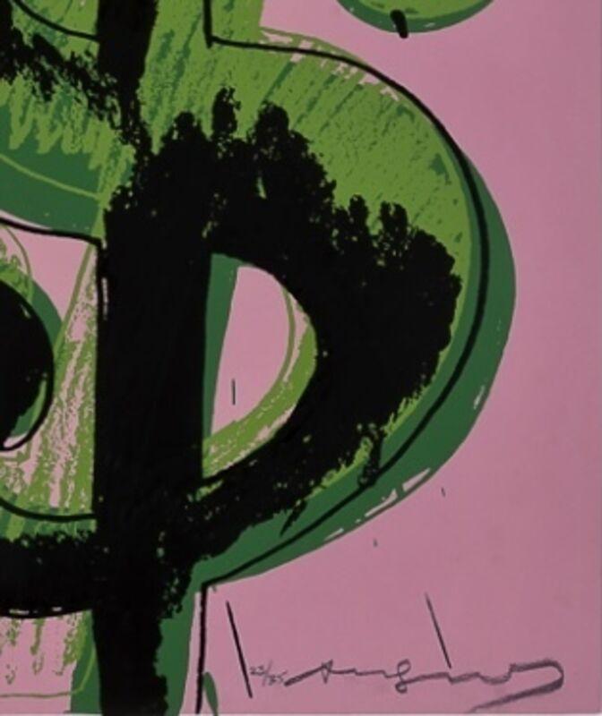 Andy Warhol, '$ (4) F&S II.282', 1982, Print, Screenprint in colors on Lenox Museum Board, Fine Art Mia