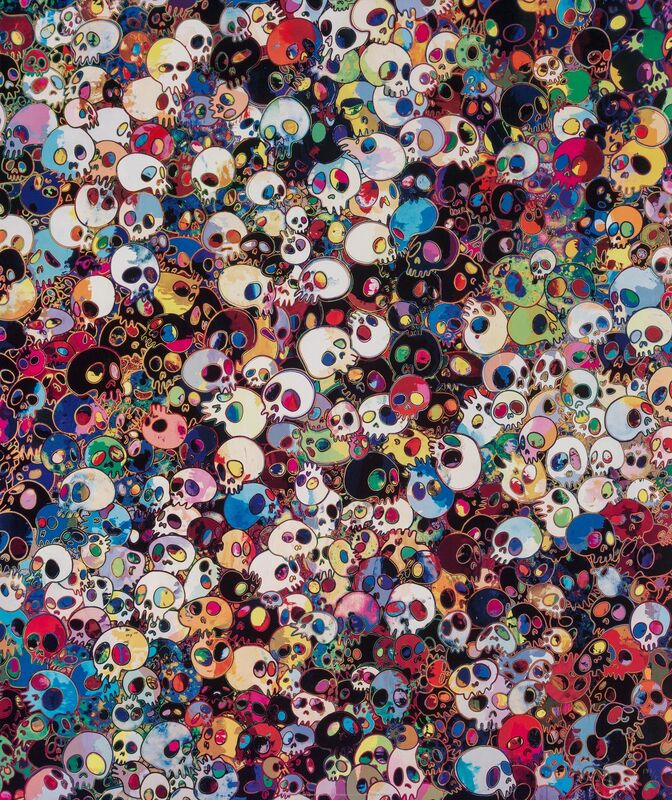 Takashi Murakami, 'These Are Little People Inside Me', 2011, Print, Offset lithograph in colors on satin high white paper, Heritage Auctions