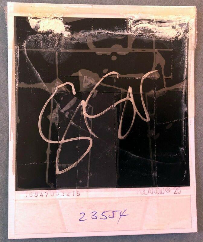 Stefanie Schneider, 'Untitled (Stay)', 2003, Photography, Original SX-70 Polaroid - Unique Piece, Instantdreams