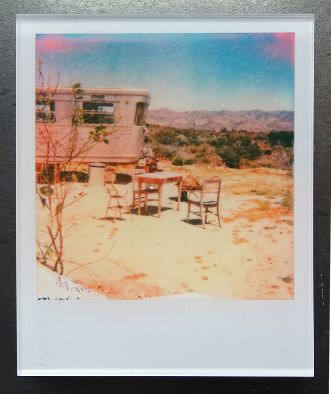 Stefanie Schneider, ''The Girl IV'  (The Girl behind the White Picket Fence)', 2013, Photography, Lambda digital Color Photographs based on a Polaroid, sandwiched in between Plexiglass, Instantdreams