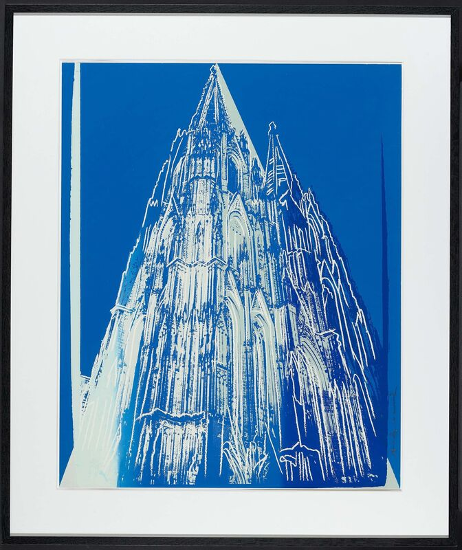 Andy Warhol, 'Cologne Cathedral', 1985, Print, Colour silkscreen on Lenox museum board, Van Ham