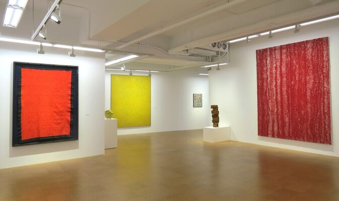 CHIYU UEMAE `A SOLITARY PATH`, installation view