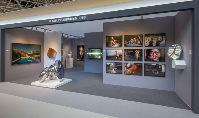 ARTITLEDcontemporary at London Art Fair 2020, installation view