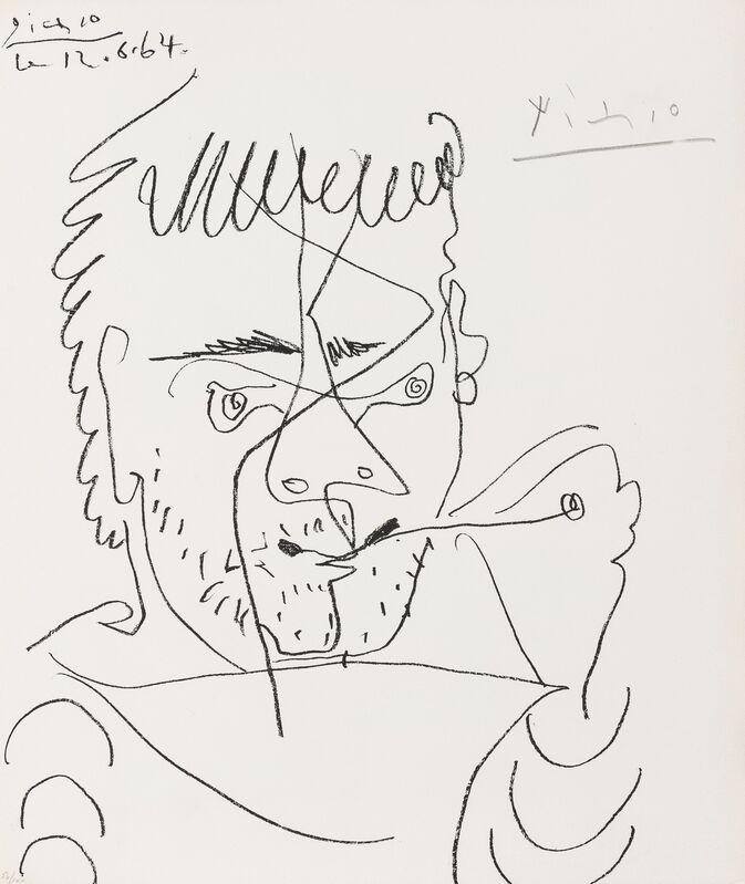 Pablo Picasso, 'Pour Daniel-Henry Kahnweiler (See Cramer 133)', 1964, Print, Lithograph, Forum Auctions