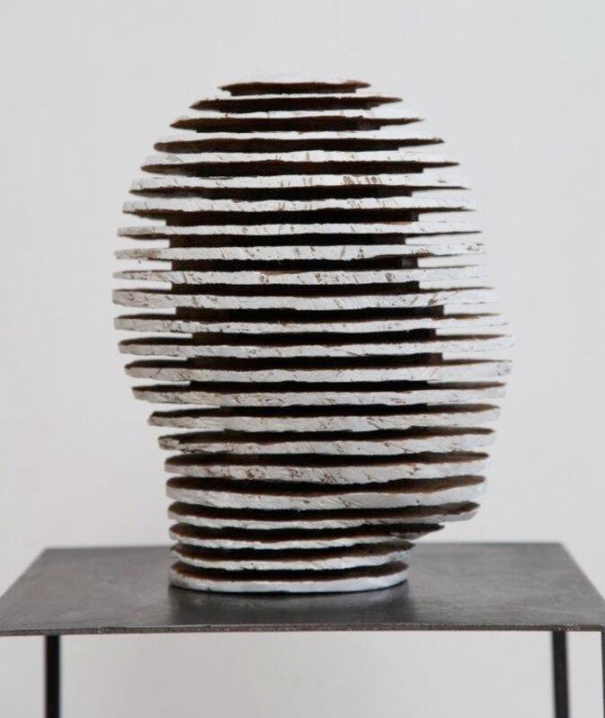 Alfred Haberpointner, 'Kopf K32-09', 2009, Sculpture, Nutwood, sawn, Mario Mauroner Contemporary Art Salzburg-Vienna