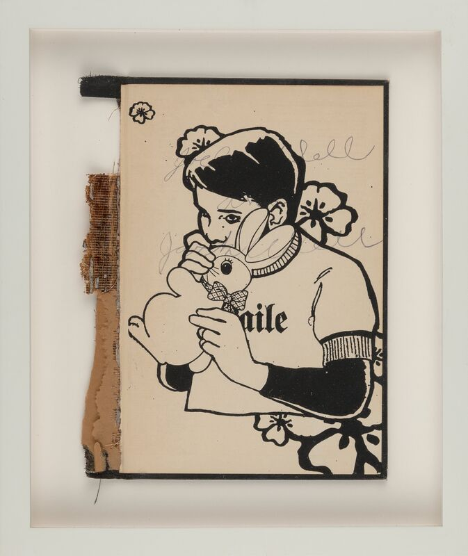 FAILE, 'Bunny Boy', 2011, Books and Portfolios, Screenprint in colors on book cover, Heritage Auctions