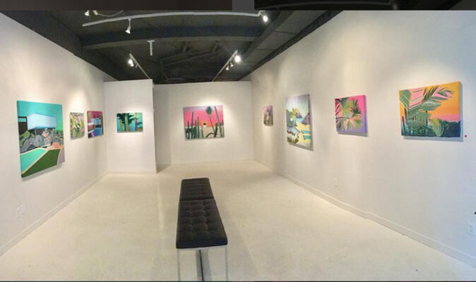 AURA (A Mexican experience), installation view