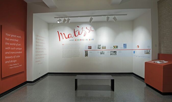 Matisse and American Art, installation view