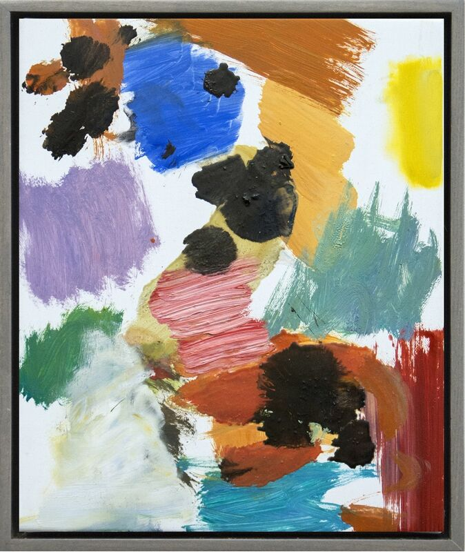 Scott Pattinson, 'Kairoi No 20 - small, bright, colourful, gestural abstract, oil on canvas', 2016, Painting, Oil on Canvas, Oeno Gallery