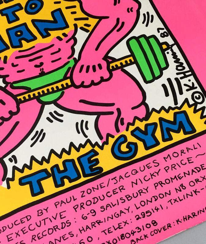 Keith Haring, 'Rare Original Keith Haring Vinyl Record Art ', 1987, Design/Decorative Art, Offset lithograph on album record cover, Lot 180