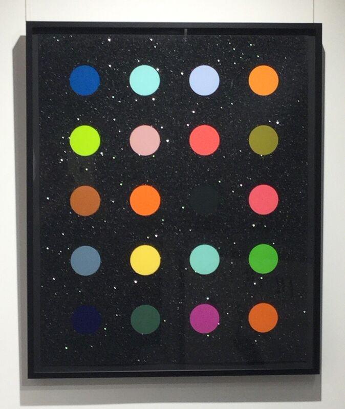 Damien Hirst, 'Methylamine-13C (black)', 2014, Print, Screen print with Diamond Dust on Somerset 410gsm paper, Joseph Fine Art LONDON
