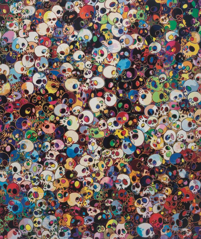 Takashi Murakami, 'There Are Little People Inside Me', 2011, Print, Offset lithograph in colors on satin wove paper, Heritage Auctions