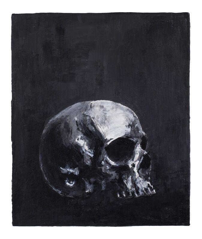 Stefan à Wengen, 'Kapala 1', 2015, Painting, Acrylic on Canvas, mounted on wood, Bernhard Knaus Fine Art