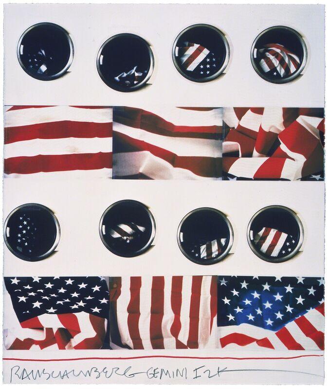Robert Rauschenberg, 'Wash', 2001, Print, 10-color screenprint, Gemini G.E.L. at Joni Moisant Weyl