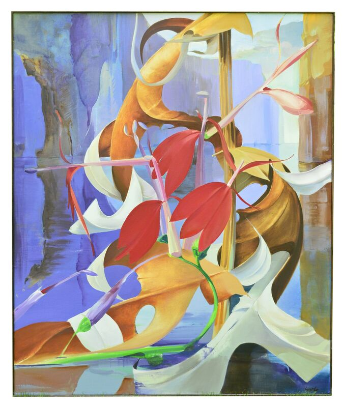 Richard Lytle, 'Passage', 1984, Painting, Oil on canvas, FRED.GIAMPIETRO Gallery