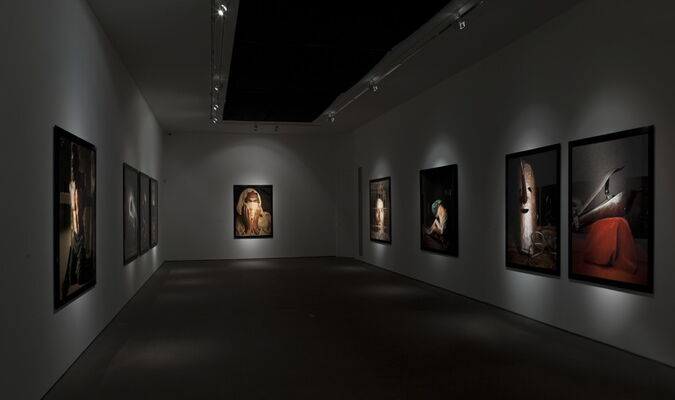 Andres Serrano - Torture, installation view