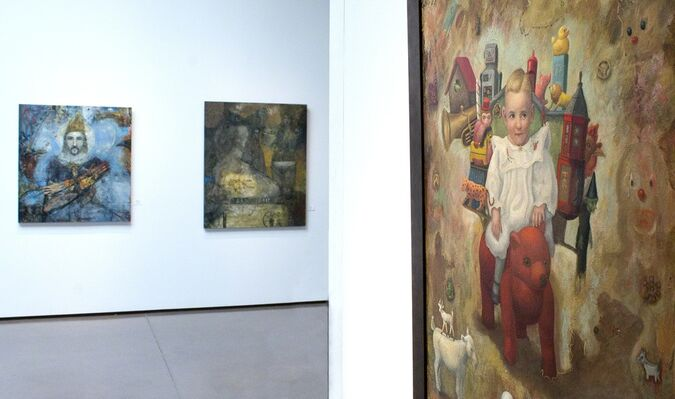 Surrealism Group Show, installation view