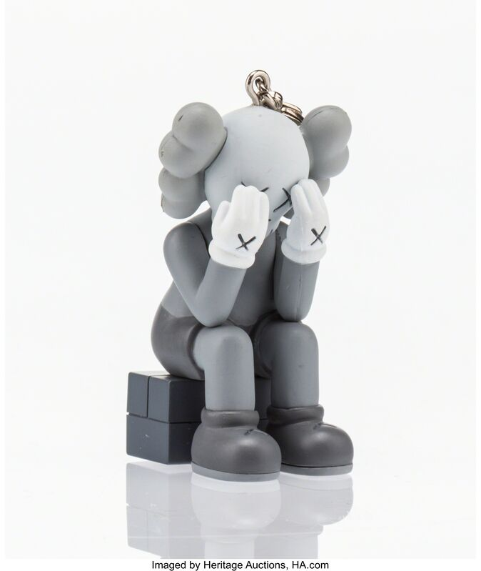 KAWS, 'Companion Passing Through (Grey)', 2013, Other, Painted cast vinyl, Heritage Auctions