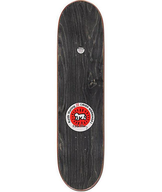 Keith Haring, 'Keith Haring Skateboard Deck', 2013, Ephemera or Merchandise, Silkscreen on Maple Wood Skate Deck, Lot 180